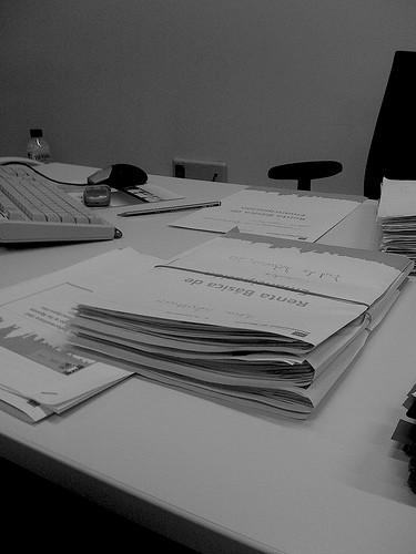 escritorio funcionario