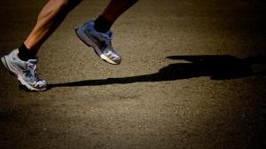pies corredor