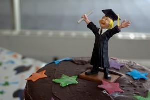 tarta graduado