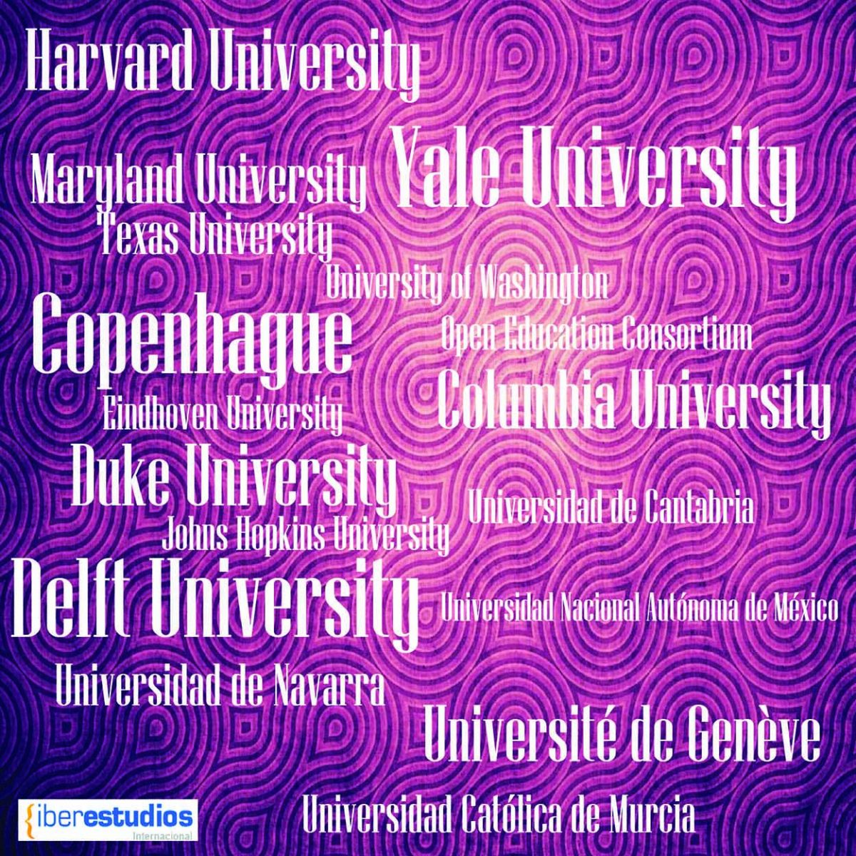Universidades Iberestudios