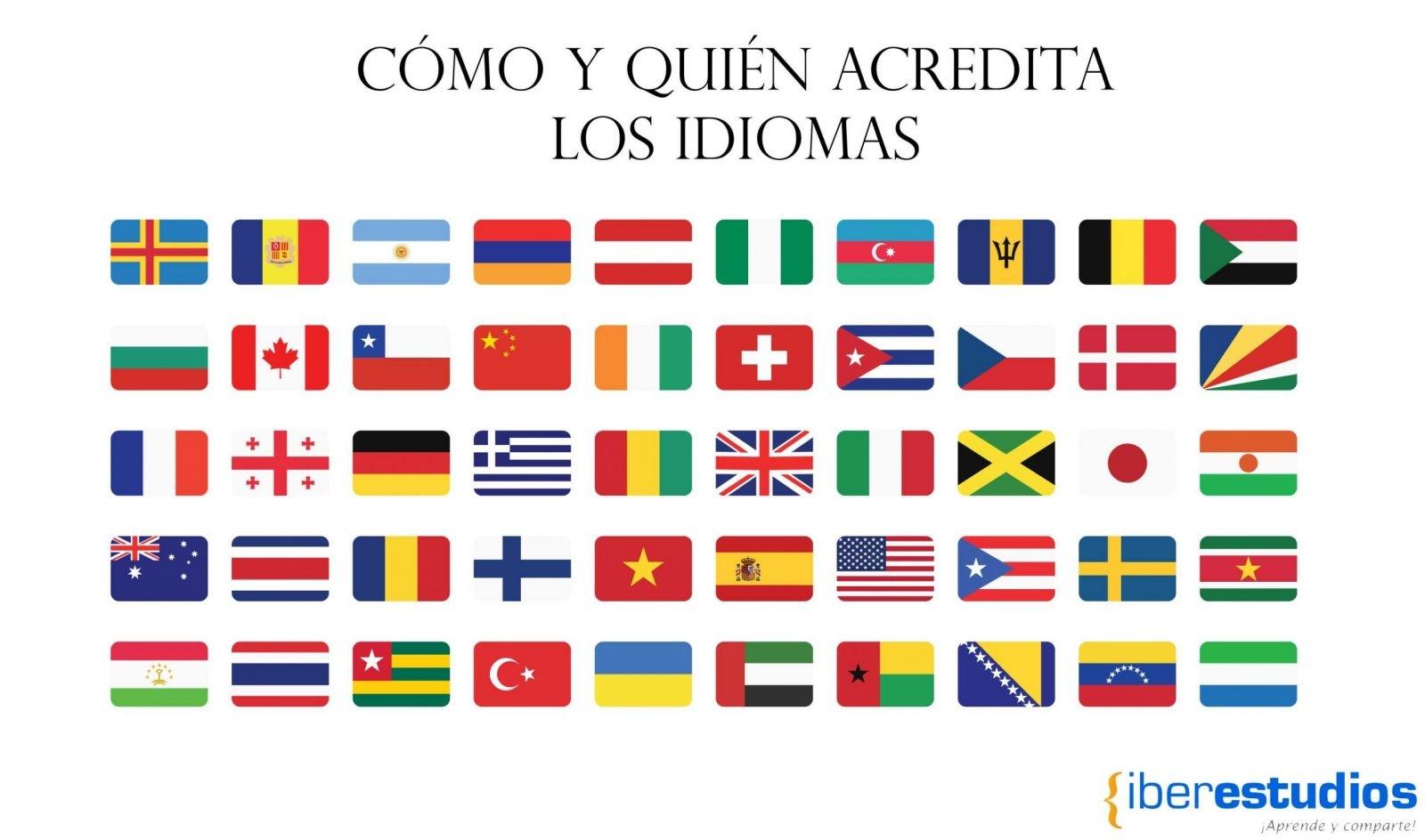 Quien acredita los idiomas