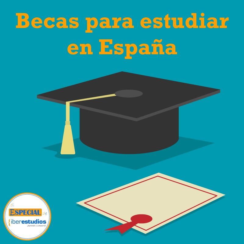 becas estudiar España