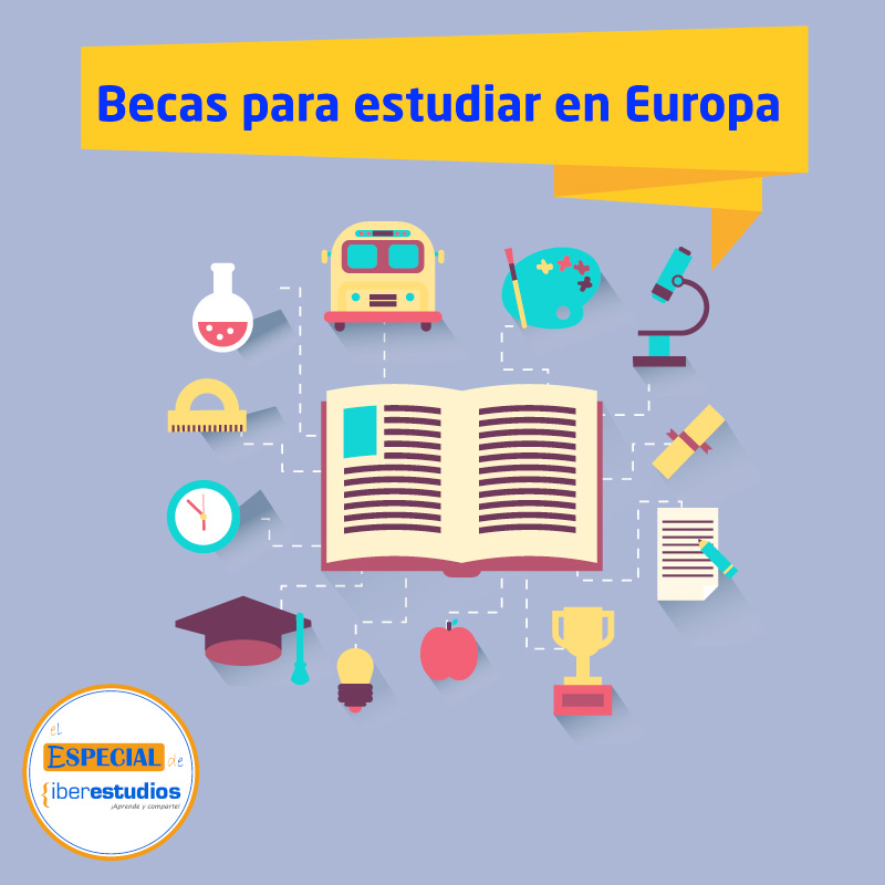 becas estudiar en Eropa